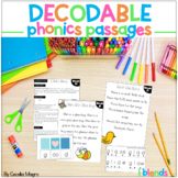 Phonics Reading Passages and Lesson Plans L Blends Decodab