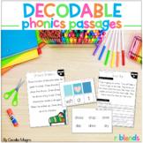 Phonics Reading Passages and Lesson Plans R Blends Decodab