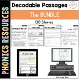 Phonics Decodable Stories: The BUNDLE