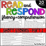 Phonics Reading Passages for Fluency & Comprehension Ficti