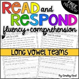 Phonics Reading Passages for Fluency & Comprehension - Long Vowels - PREVIEW!