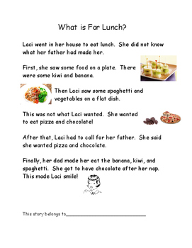 Phonics Reading Practice for the sounds of a and i