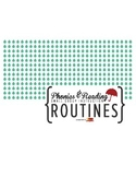Phonics & Reading Small Group Instruction Routine Cards