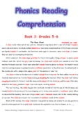 Phonics Reading Comprehension Book3 Grades5-6