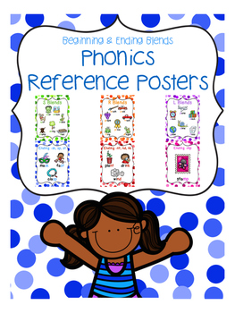 Phonics Reference Posters {Beg. and Ending Blends}