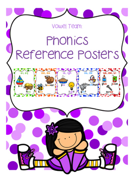 Phonics Reference Posters {Vowel Teams}