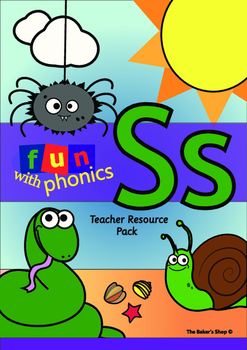 Phonics Resource Pack 'S'