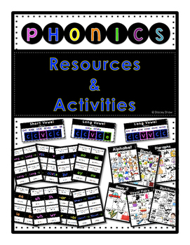 Phonics Resources & Activities - Word Work