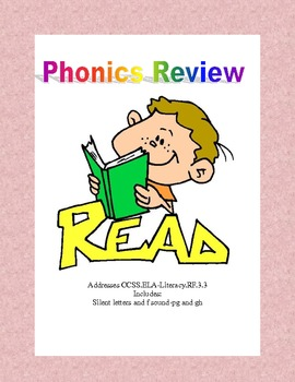 Phonics Review  Addresses CCSS.ELA-Literacy.RF.3.3