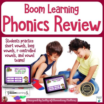 Phonics Review BOOM Cards
