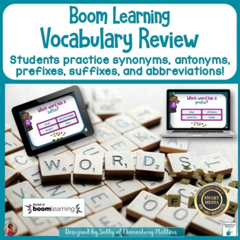 Vocabulary Review BOOM Cards
