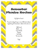 Phonics Review - Blends, Compound Words, Digraphs, and Short Vowels