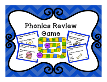 Phonics Review Game