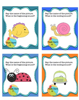 Sight Words Guided Reading Phonics Task Cards