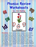 Phonics Review Worksheets
