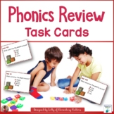 Phonics Review for Second and Third Grade Task Cards