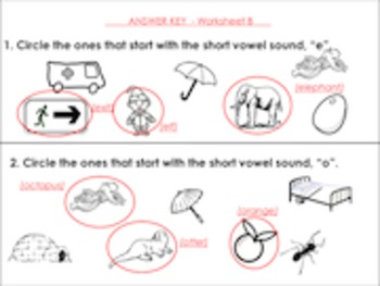 Phonics Review for young students.