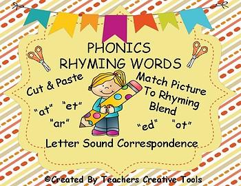 Phonics Rhyming Words