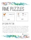 Phonics Rime Puzzles