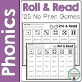 Phonics Roll & Read Games