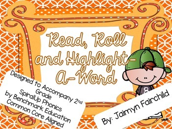 Phonics Roll, Read & Highlight-A-Word