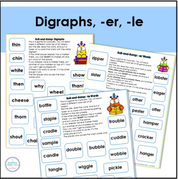 Phonics Roll-and-Bump Games