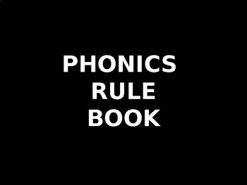 Phonics Rule Book