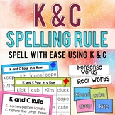 Phonics: K & C Spelling Rule