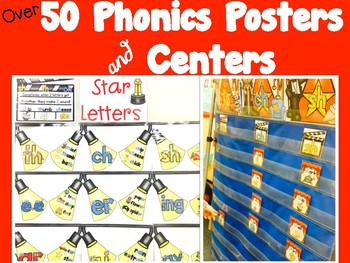 Phonics Rule Posters & Centers!