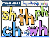 Phonics Rules 3 Clip Art (Digraphs 1)
