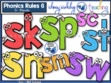 Phonics Rules 6 Clip Art (S Blends)