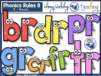 Phonics Rules 8 Clip Art (R Blends)