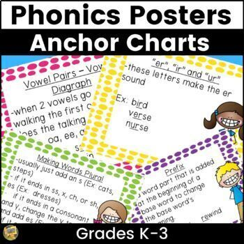 Phonics Rules Anchor Charts Worksheets & Teaching Resources
