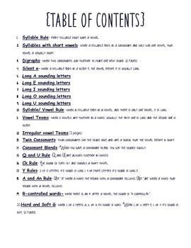 Phonics Rules! Book