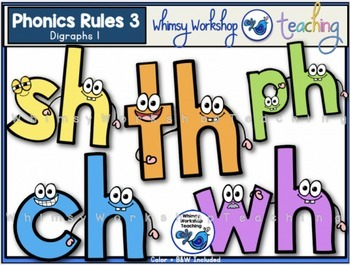 Phonics Rules Bundle 1 (5 Complete Sets - 80 images)