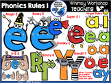 Phonics Rules 1 Clip Art - Whimsy Workshop Teaching