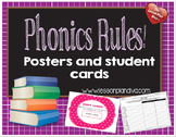 Phonics Rules! (phonics rules posters and assessments)