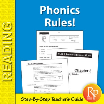 Phonics Rules! Teaching Manual & Student Worksheets