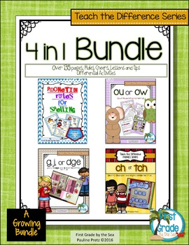 Phonics Rules That Teach the Difference Bundle
