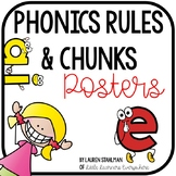 Phonics Rules and Chunks Posters