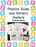 Phonics Rules and Patterns Posters - A Growing Resource