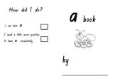 Phonics SATPIN Mini Book Aa