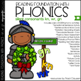 Phonics - SILENT CONSONANTS - Reading Foundation with Phonics (KN, WR, GN)