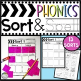 Phonics SORT & SPELL Word Sorts