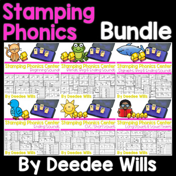 Phonics STAMPING Center~ BUNDLE
