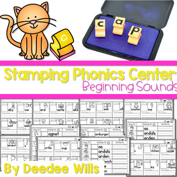 Phonics STAMPING Center ~ Beginning Sounds!