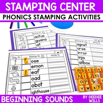 Phonics STAMPING Center ~ Beginning Sounds!