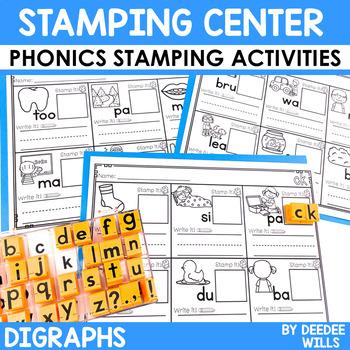 Phonics STAMPING Center ~ Digraphs!