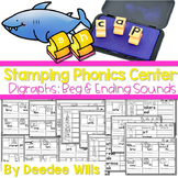 Phonics STAMPING Center ~ Digraphs!
