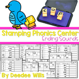 Phonics STAMPING Center ~ Ending Sounds!